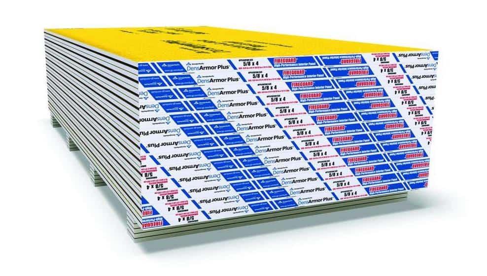 Fiberglass-mat gypsum drywall