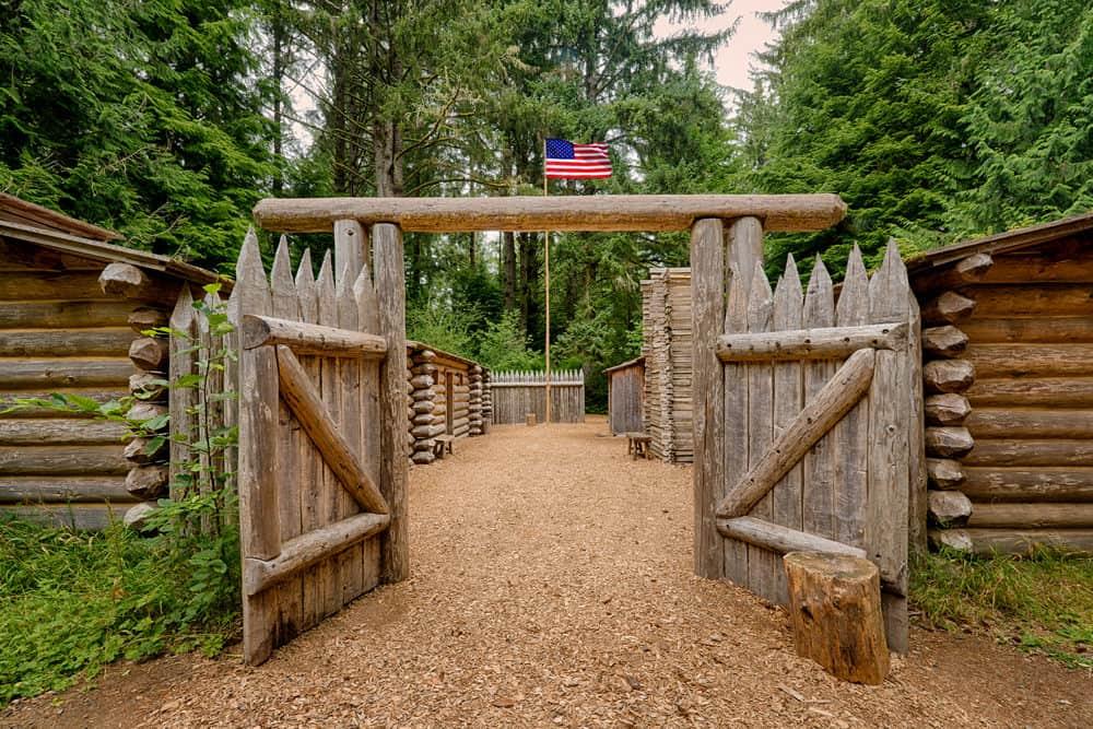 Fort Clatsup, Astoria, Oregon