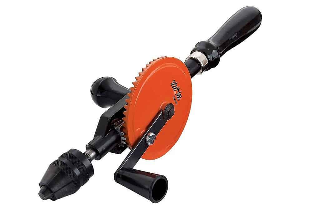 Heavy-duty 5/16-inch rotary hand drill with a 5/16 in. bit capacity and all-steel design.