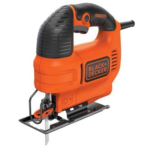 4.5 Amp jig saw with dust blower.