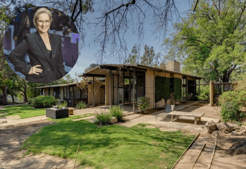 Meryl Streep's Home in Pasadena, California ($3.6M)