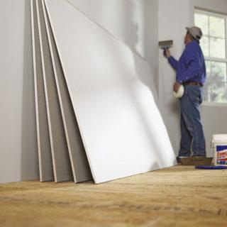 Standard drywall