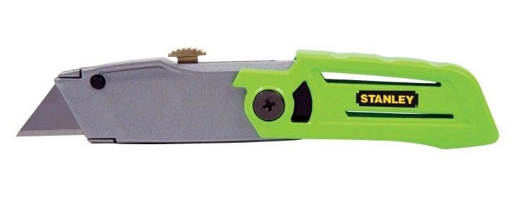 Utility knife for cutting drywall