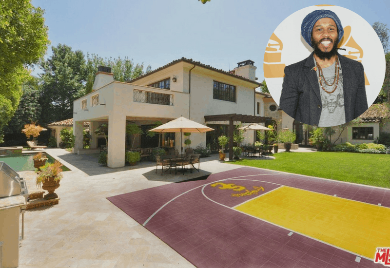 Ziggy Marley Buys Toluca Lake Mansion For $5.5M