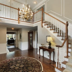 Nice foyer in large home