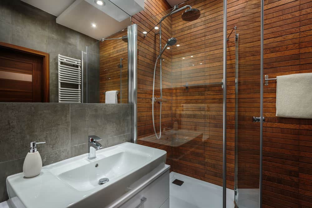 Alternatives To Tile In The Shower - Alternative to tiles in shower cubicle