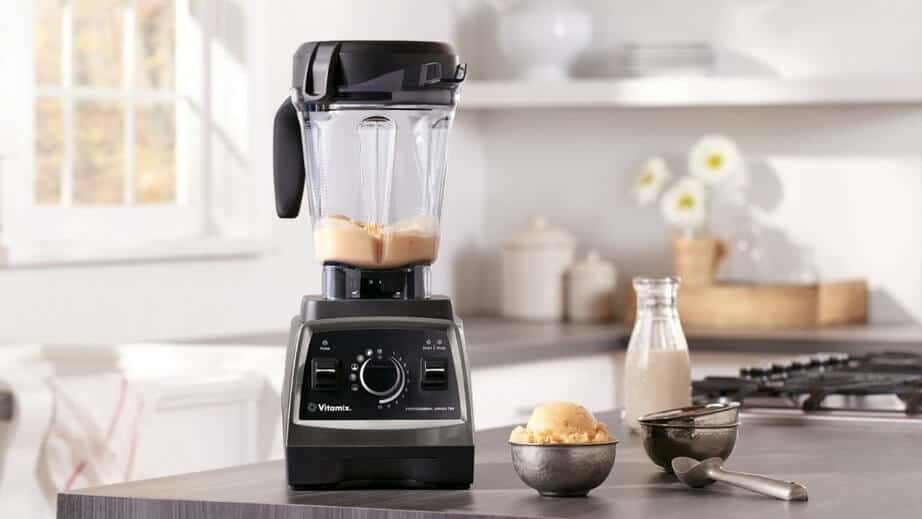 Vitamix smoothie blender.