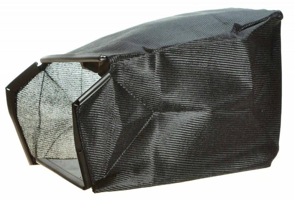 Black grass bag.