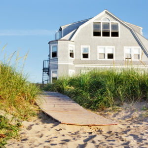 Beautiful cape cod style beach house