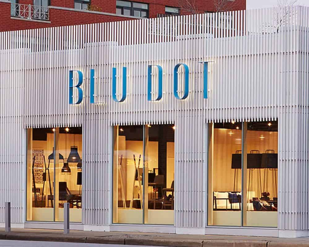 A Blu Dot store in Chicago.