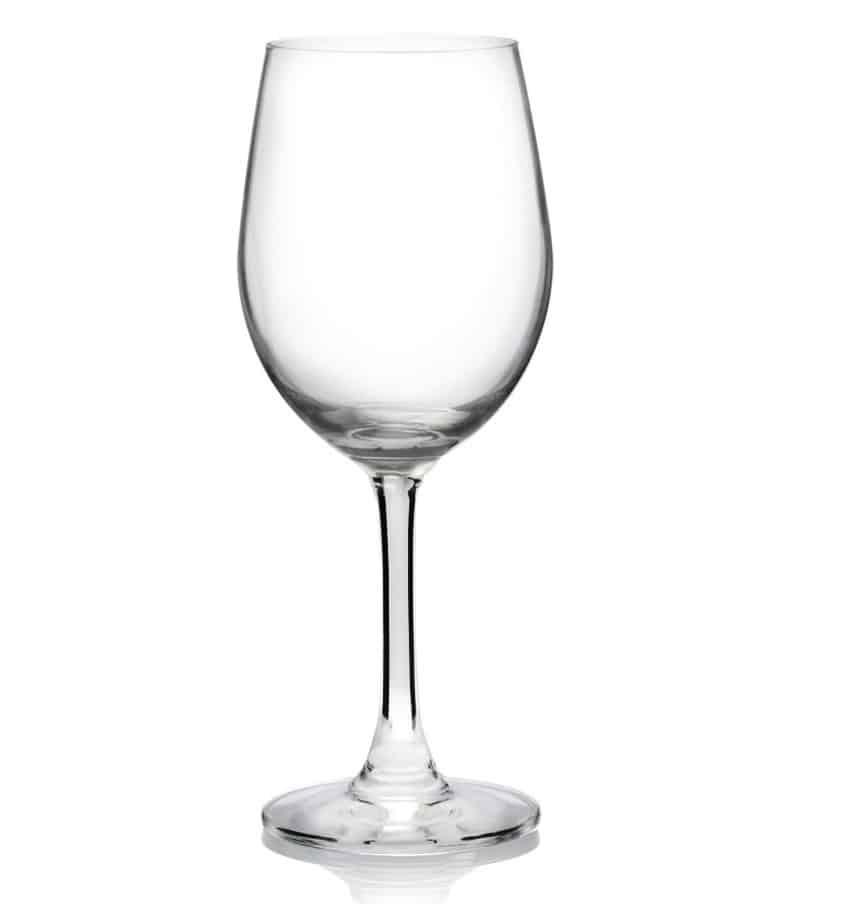 Chardonnay glass has that smooth U-shaped bowl.