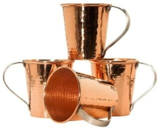 Copper glasses are not only good-looking, they are beneficial to your health too.