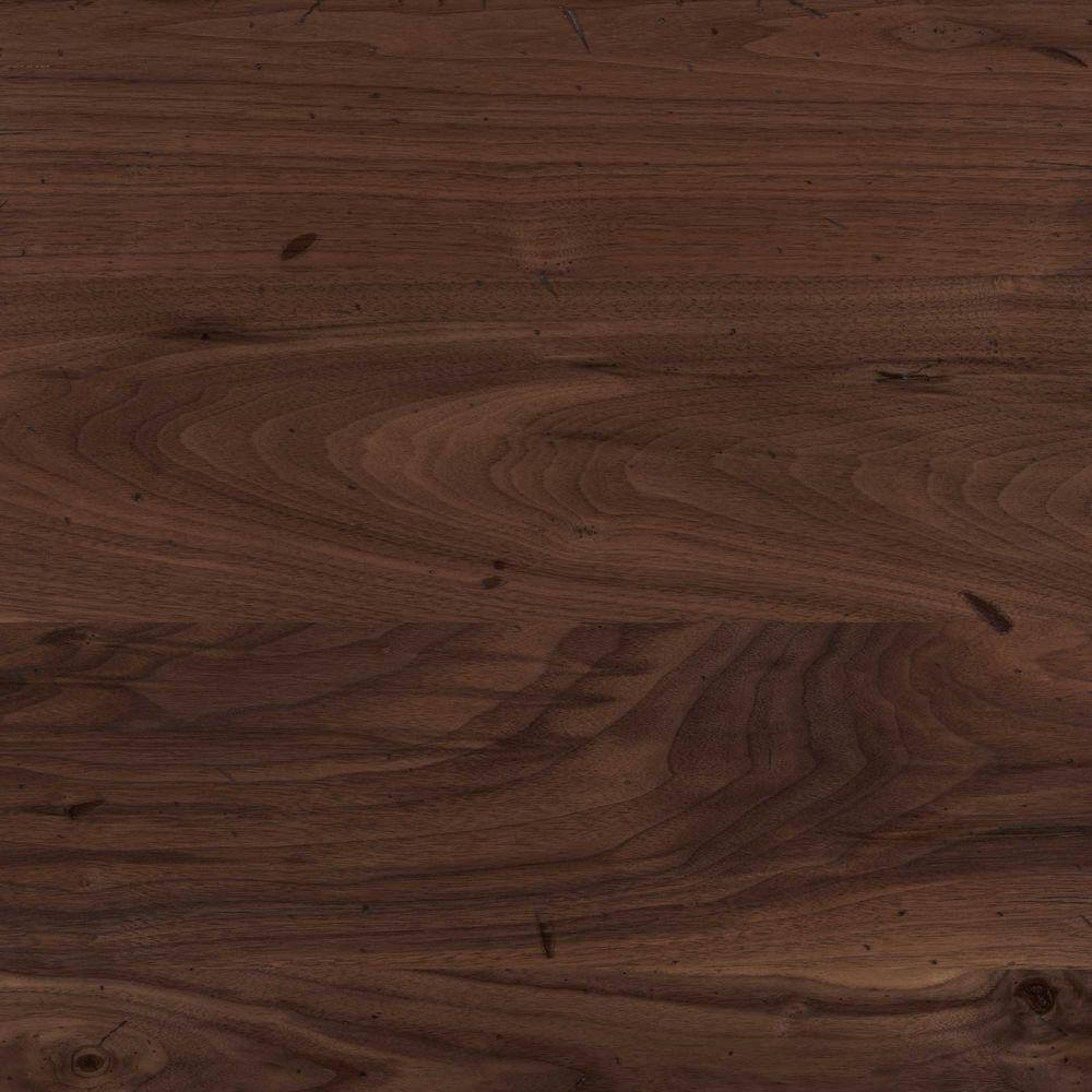 Dark walnut countertop with a smooth texture.