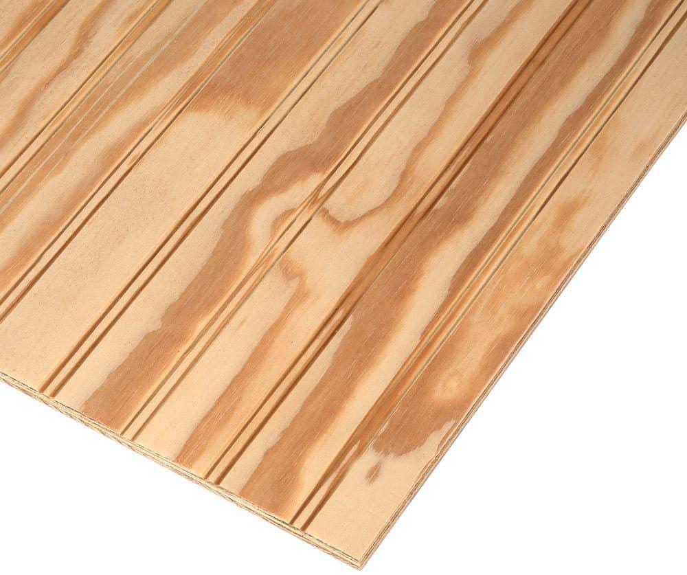 Smooth and decorative pine plywood.