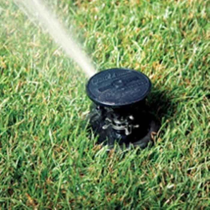 There are three basic types of spray patterns: fixed, rotating, and mist.