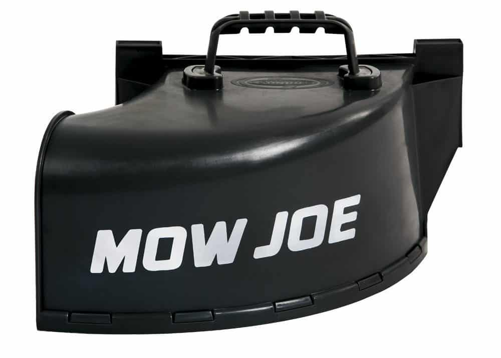 Side discharge chute accessory for lawn mowers.