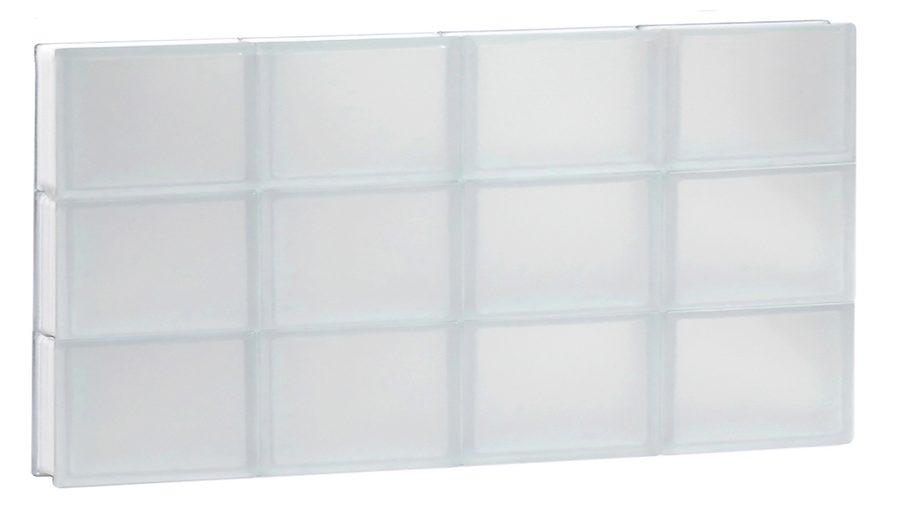 Break-resistance, frameless frosted glass.
