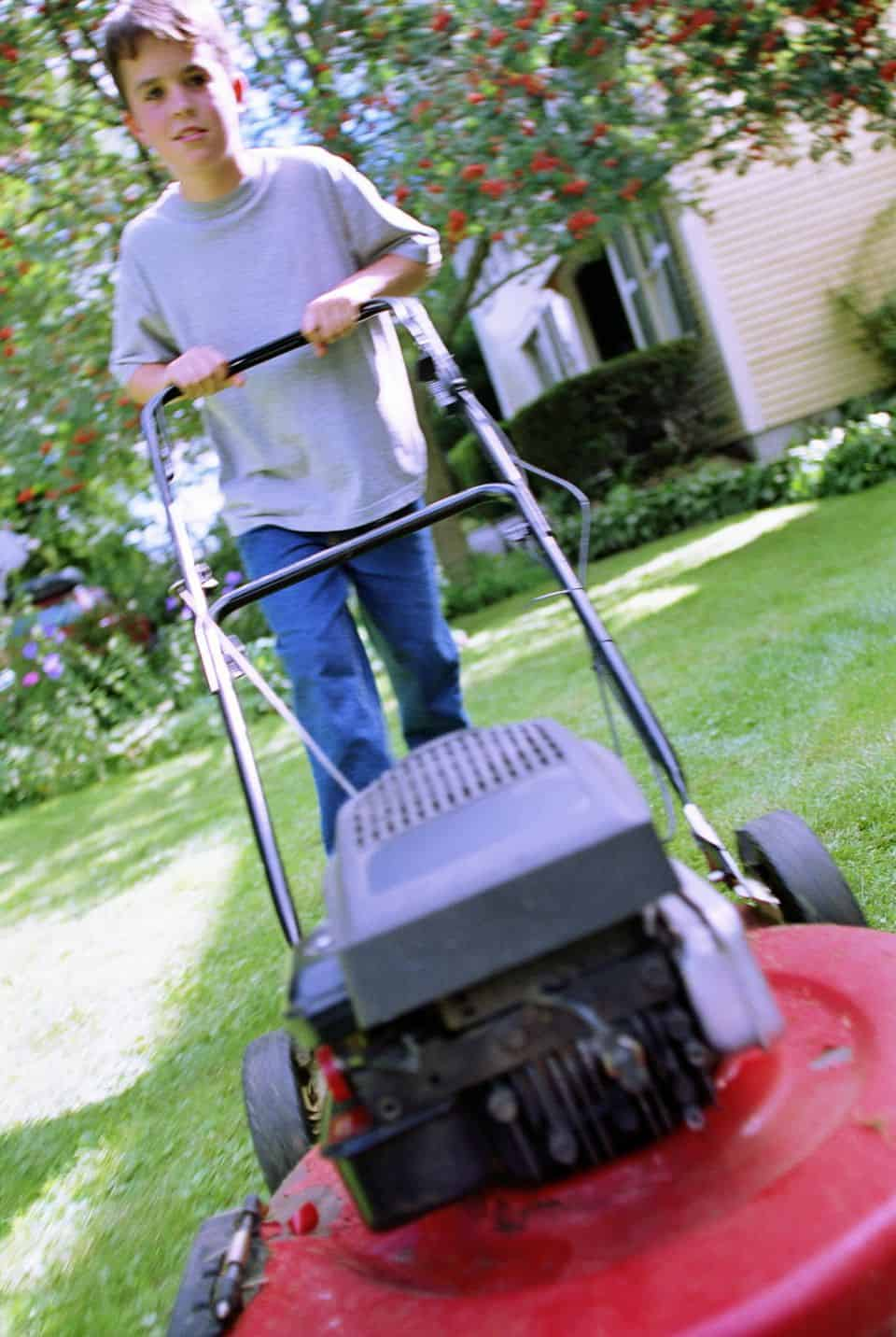 Find a mower that honors you and/or the person who will be using it.
