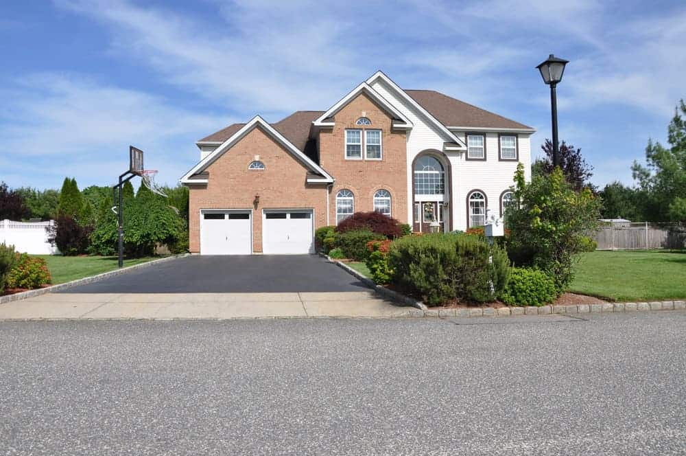 House with attached garage