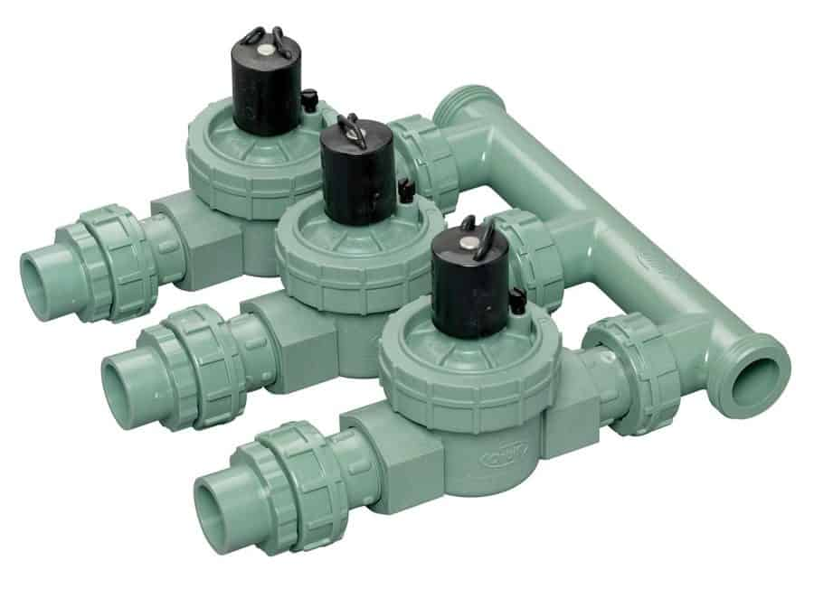Each in-ground sprinkler system is comprised of the main line which leads to different branches. At the end of each branch is a sprinkler head, which is a specialized piece of machinery designed to spray water over a designated area.