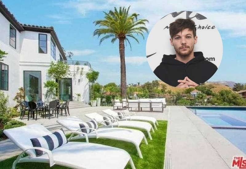 Louis Tomlinson's Hollywood Hills Home ($7.3 Million)