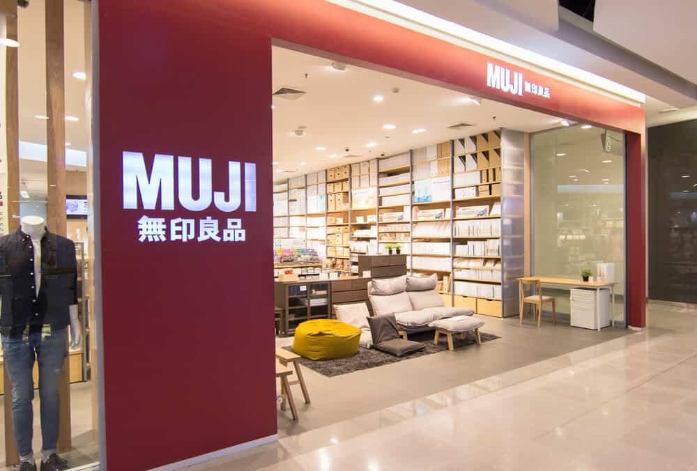 A Muji branch located at Bangkok, Thailand.