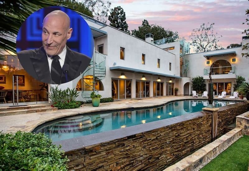 Sam Simon Los Angeles architectural estate is now on the market for $18 million.