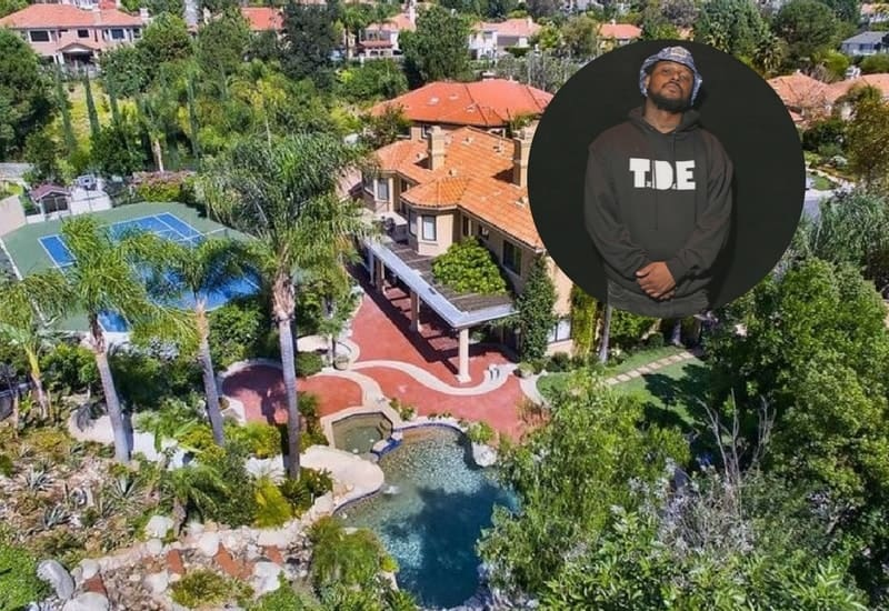Schoolboy Q's Calabasas Mansion ($3 Million)