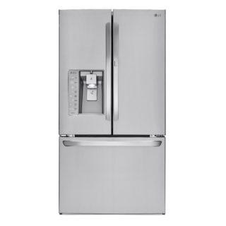Door in door refrigerator with bluetooth speaker.