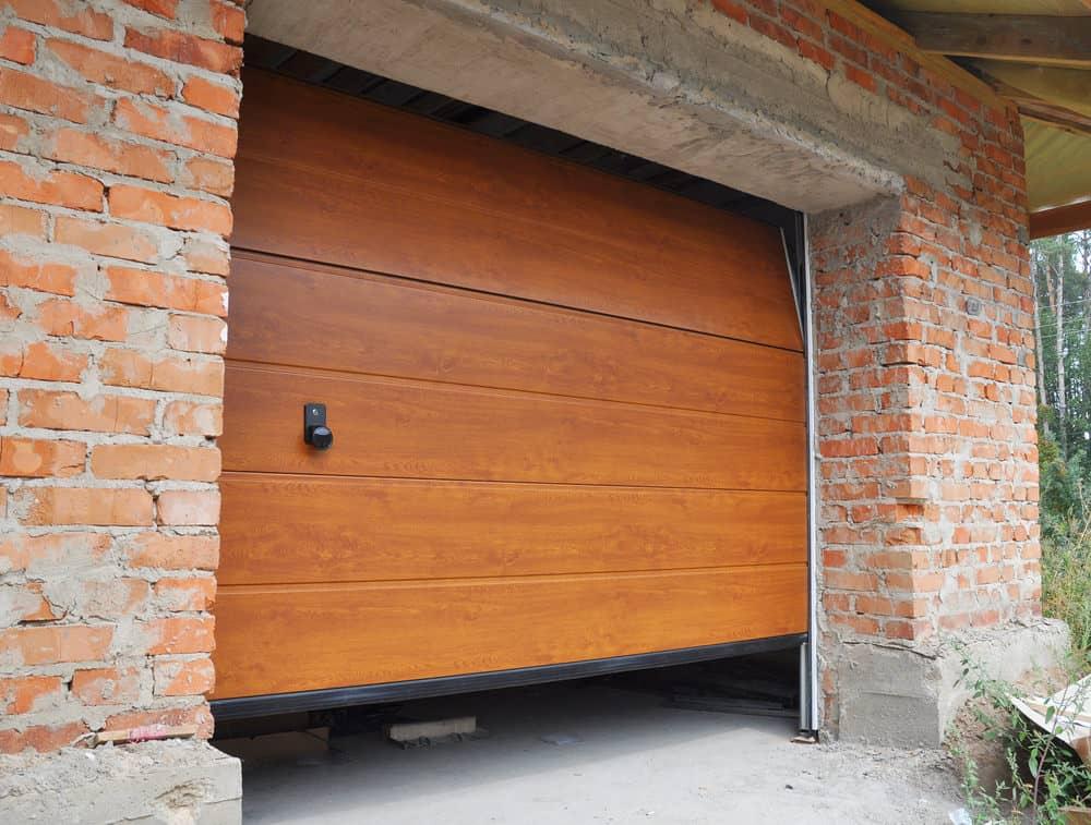 Single bad garage door