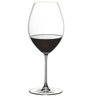 Viognier wine glass has a small bowl and a wider rim.