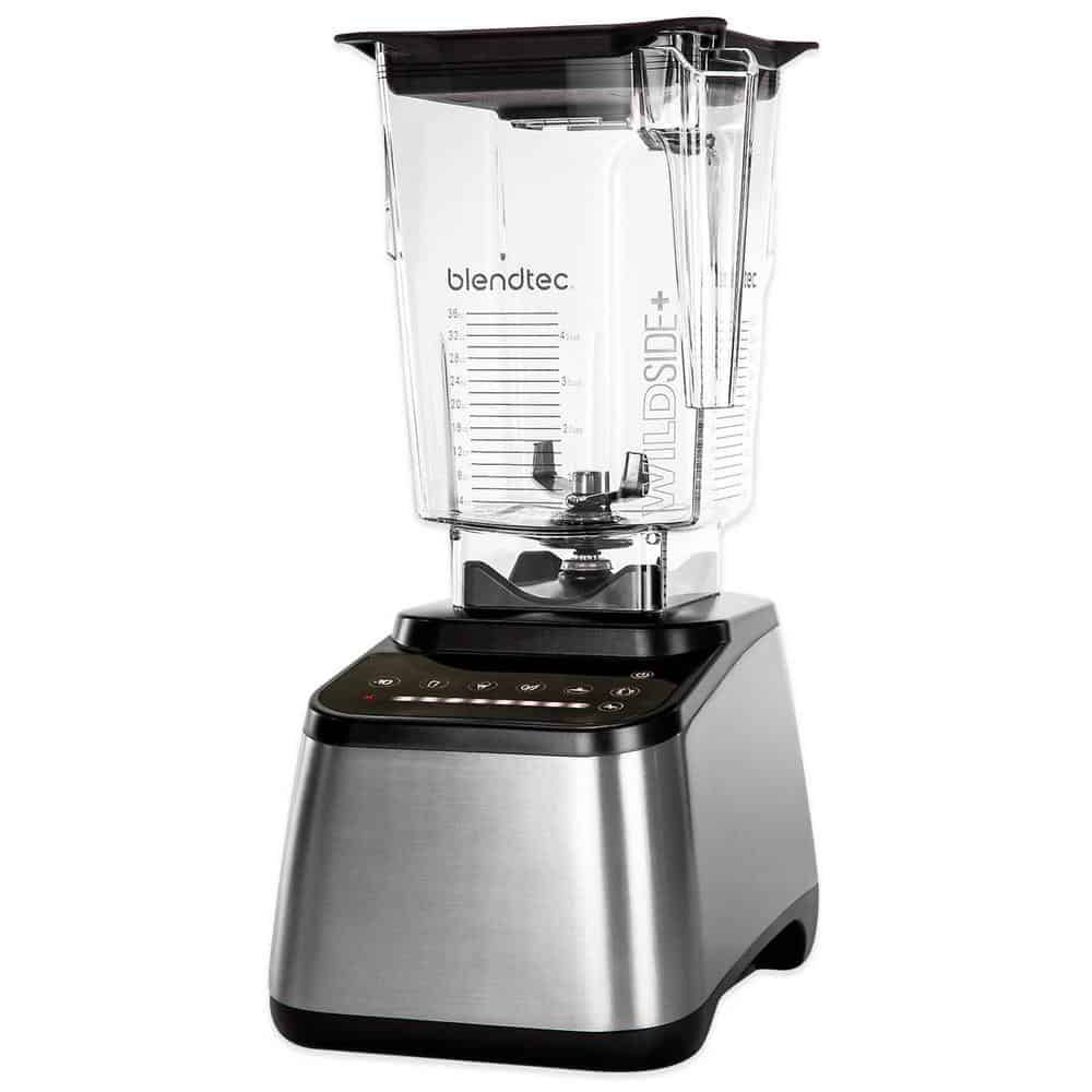 Counter-top, stainless steel blender by BlendTec