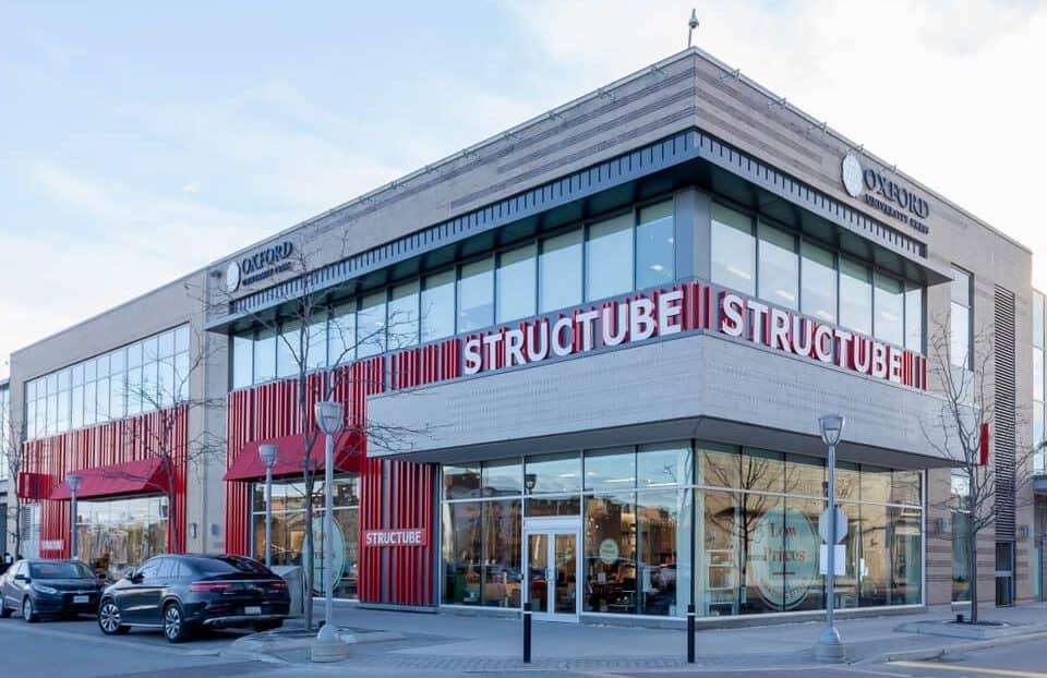 Structube store in Toronto, Canada.