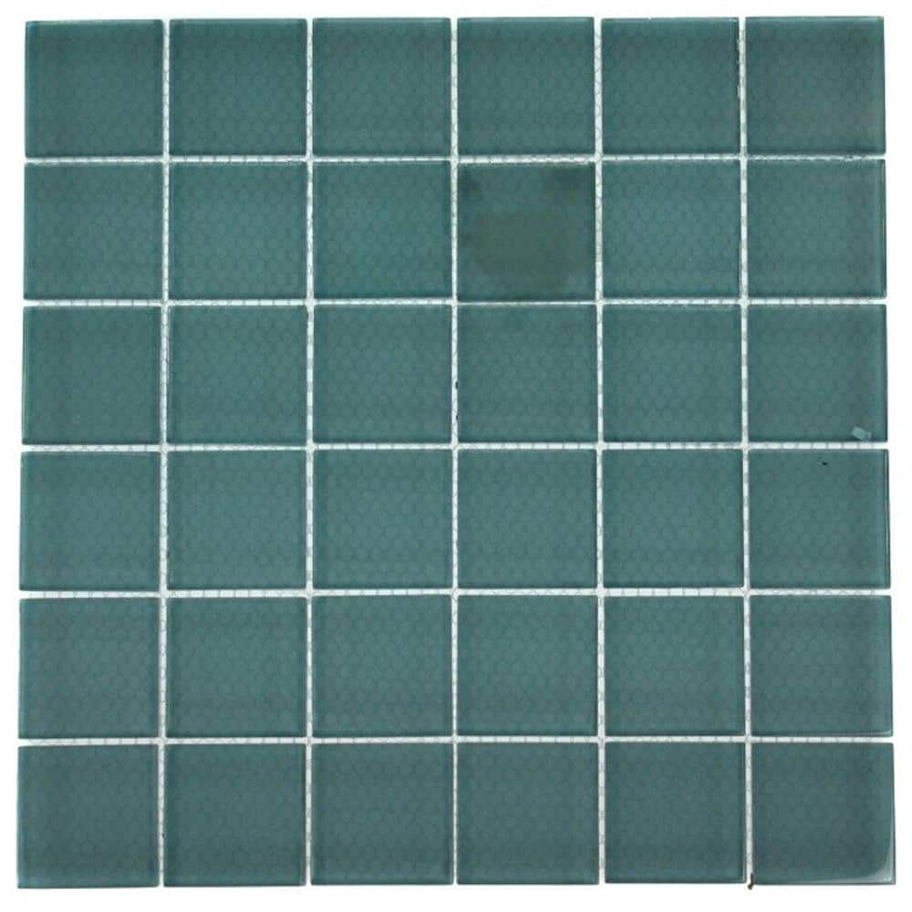 7 alternatives to tile in the shower for Back painted glass tile