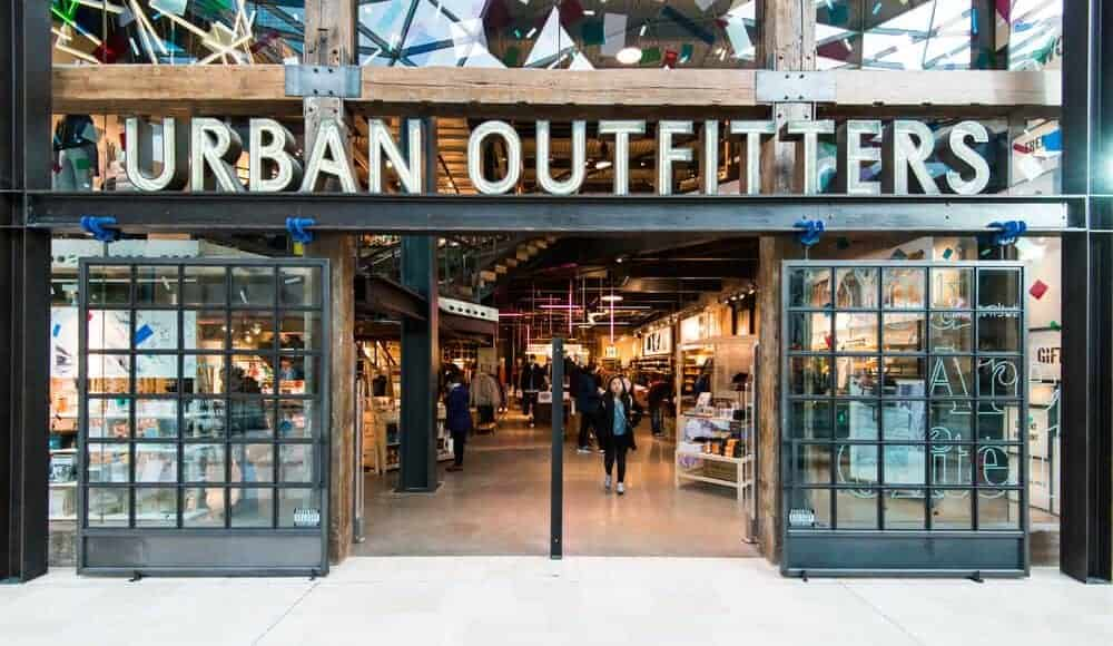 An Urban Outfitters branch in London, England.