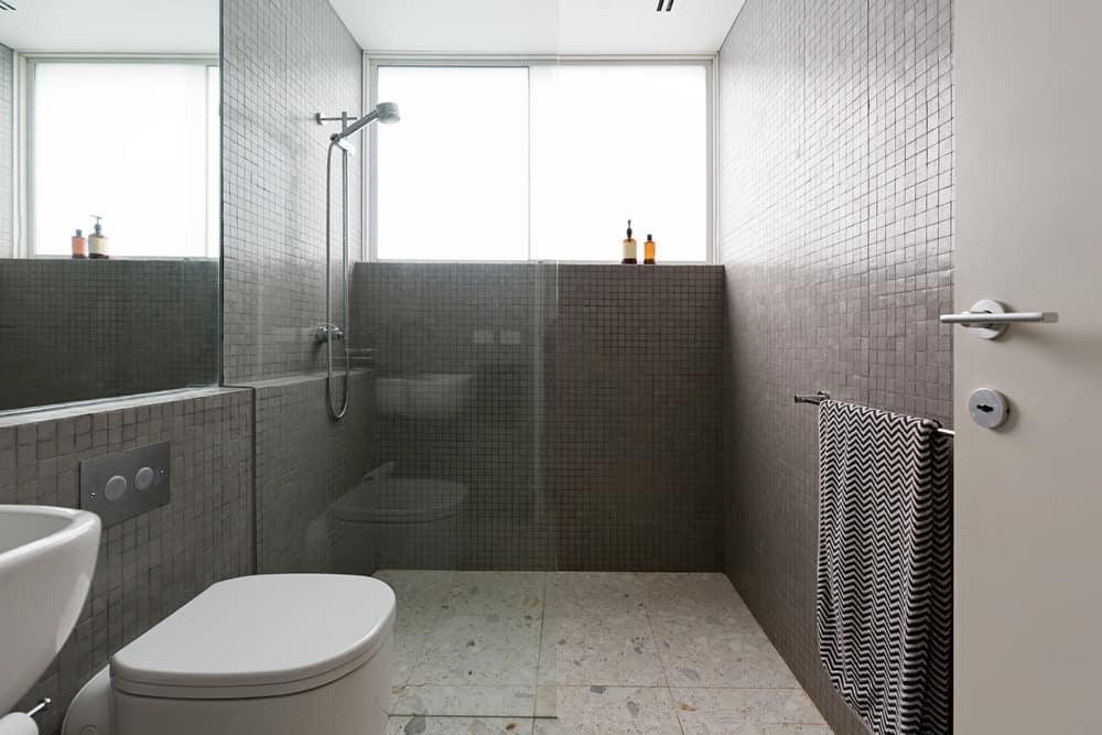 Walk In Shower With No Door Or Curtain