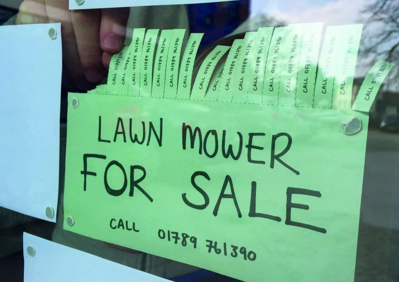 Best place to buy lawnmowers.