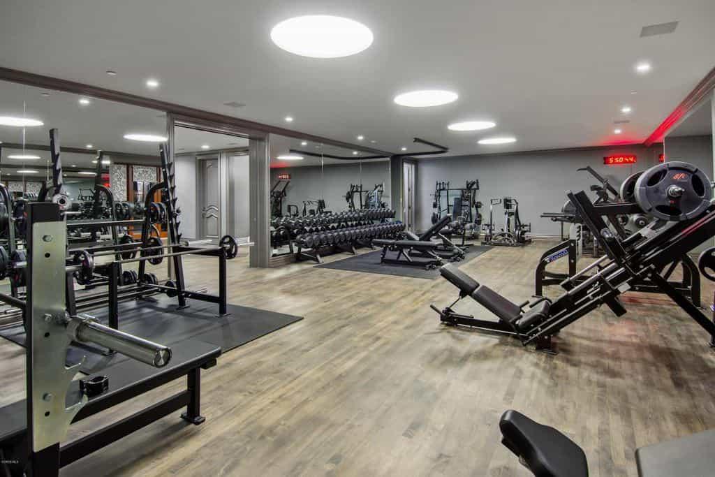 Home gym design ideas for