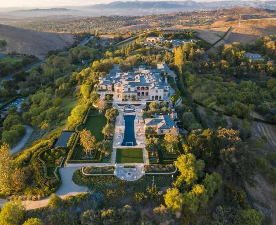 50,000 sq. ft. Thousand Oaks, CA Mega Mansion