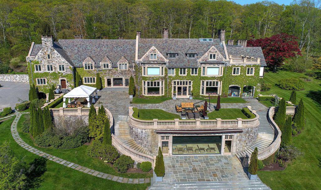 34,000 sq. ft. Millbrook, NY old world mega mansion castle