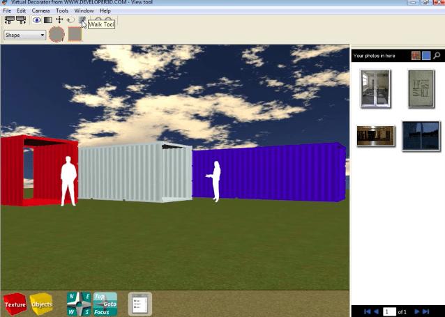 3D ISBU User Interface