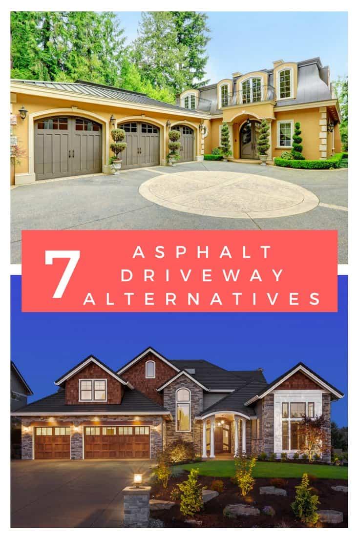 7 alternatives to asphalt driveways