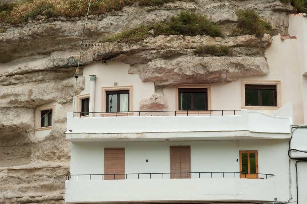 Cave house in Alcala del Jucar, Spain