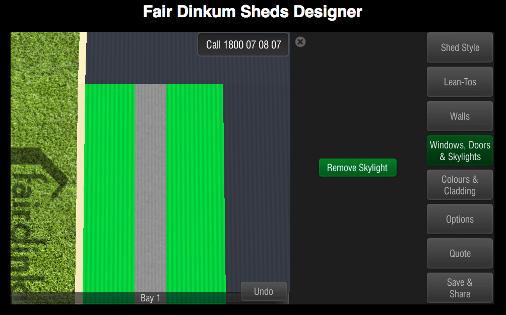 Fair Dinkum Sheds Designer Windows, Doors & Skylights