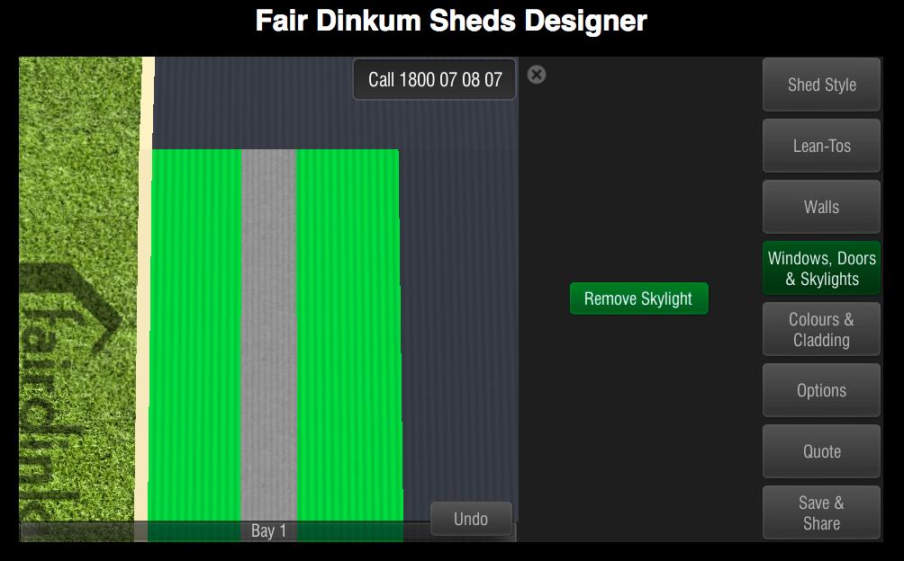 Fair Dinkum Sheds Designer Windows, Doors & Skylights