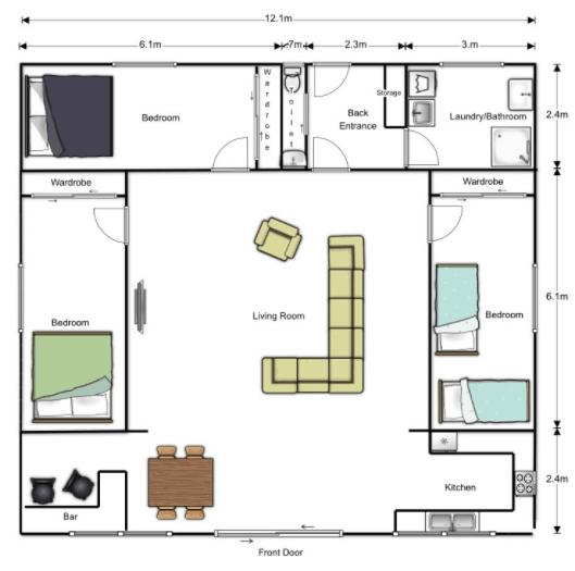 Floorplanner Furniture Layout