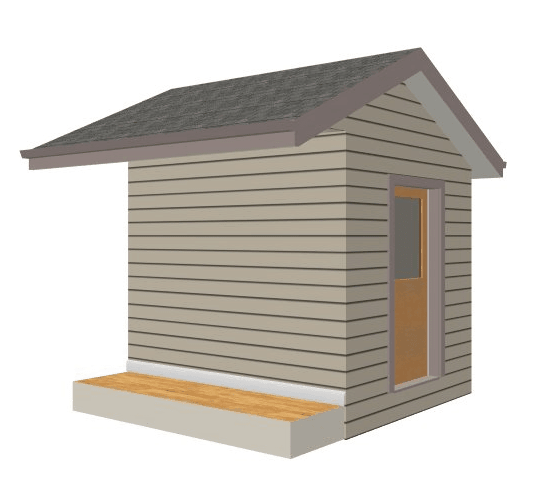 Home Designer Suite Shed with Work Area