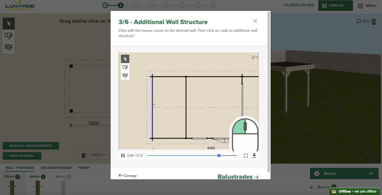 Lugarde 3D-configurator Help 3