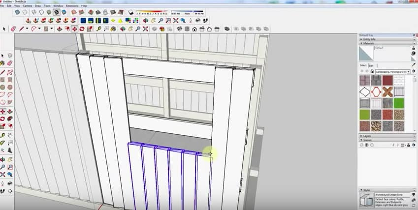 SketchUp Step 7: Windows