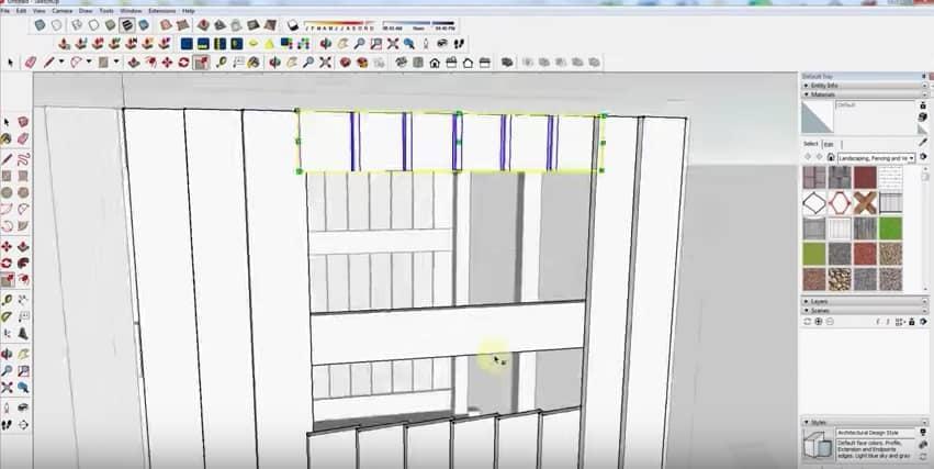 SketchUp Step 8: Windows
